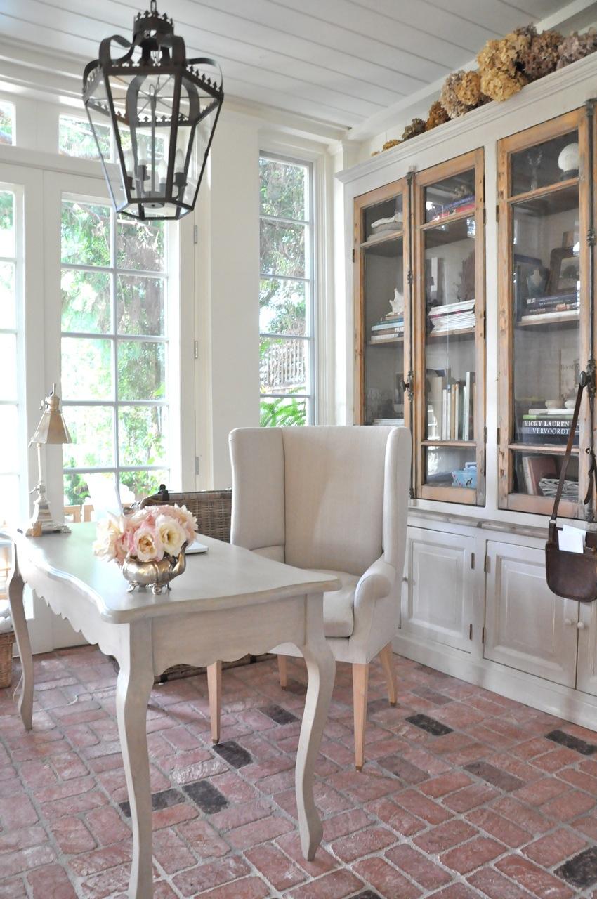 кабинет в стиле прованс