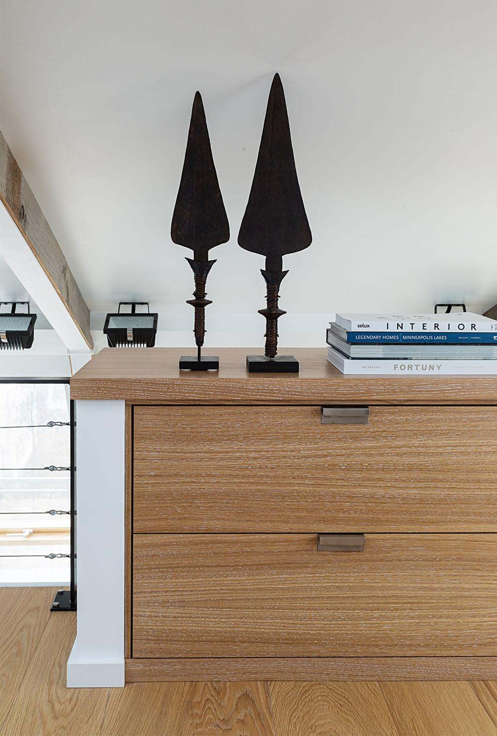 декор комнаты лофт