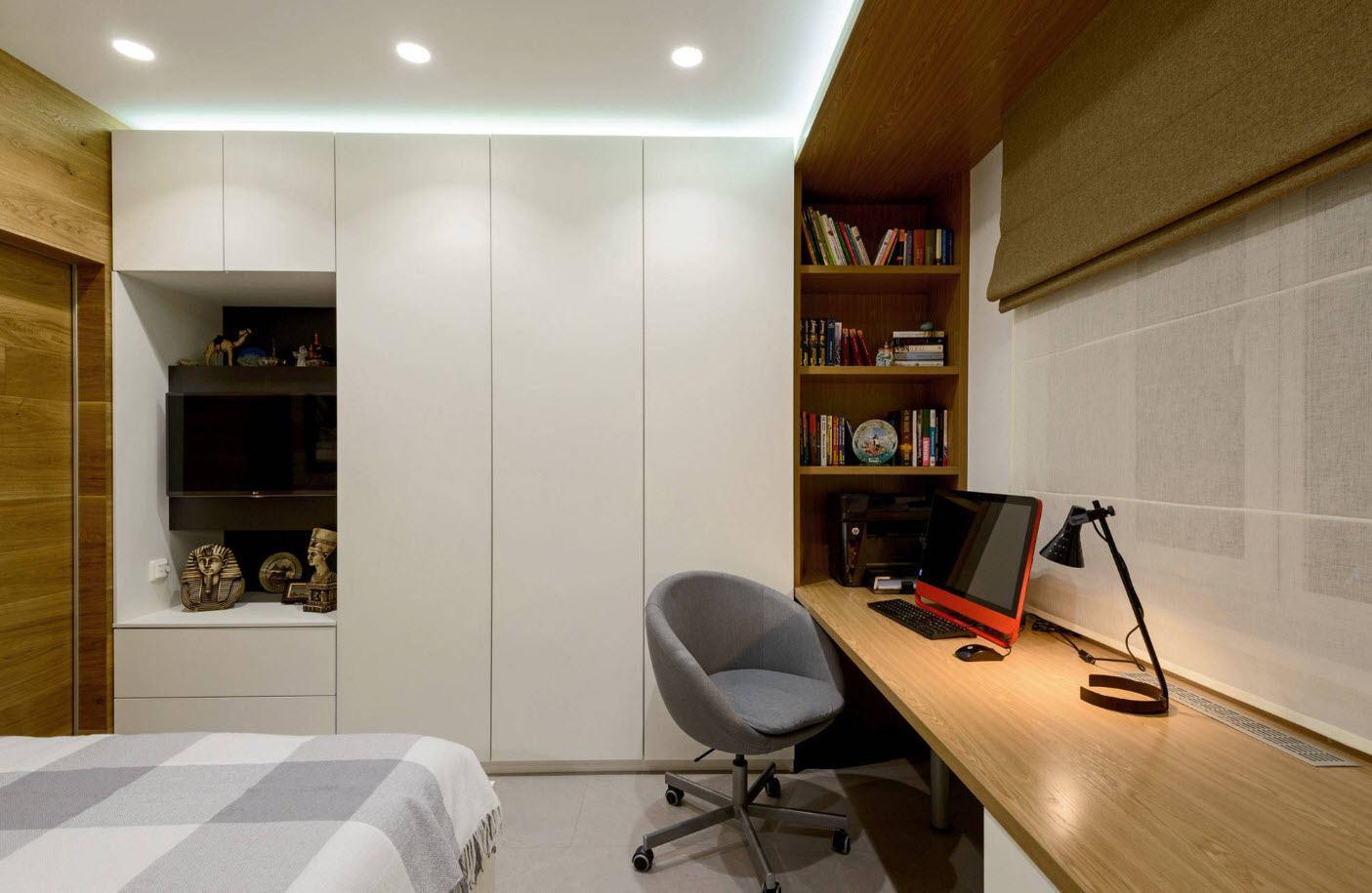 дизайн однокомнатной квартиры для семьи с ребенком фото