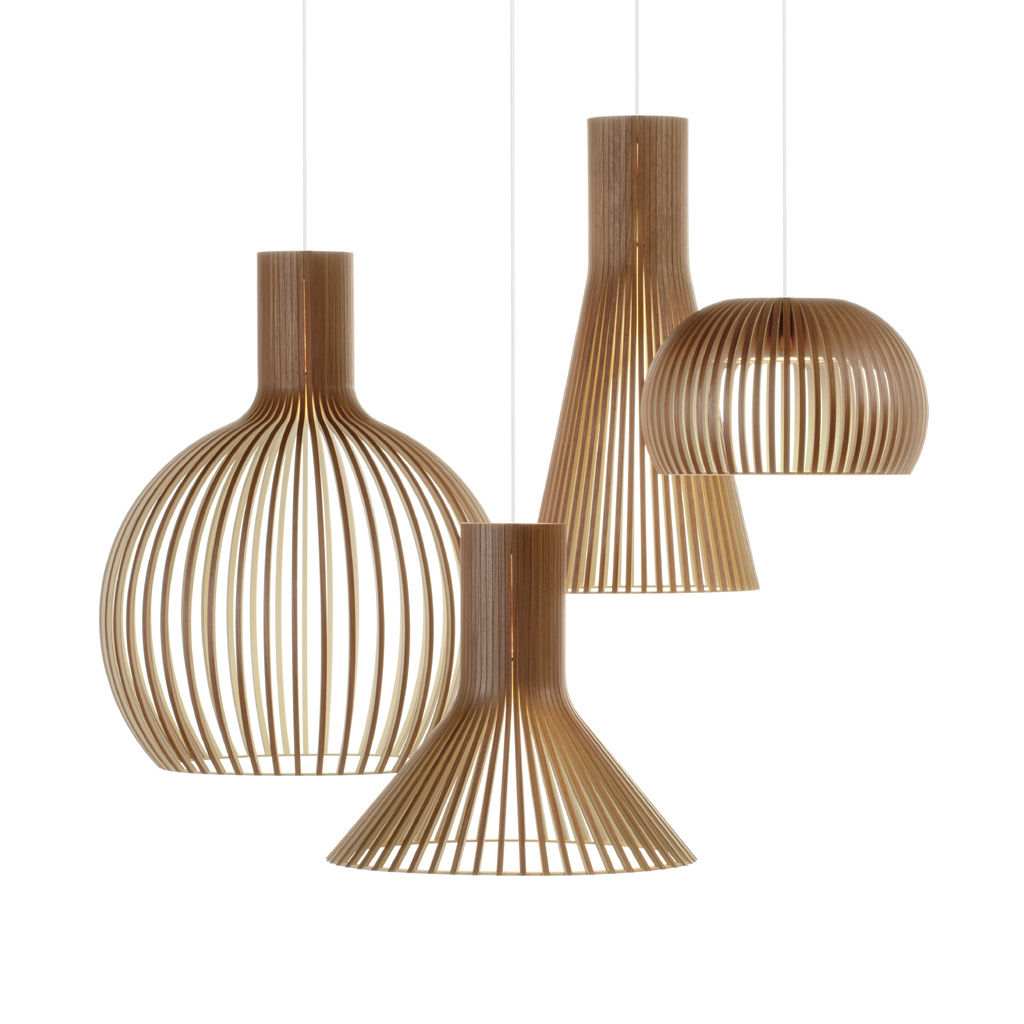 светильники деревянные