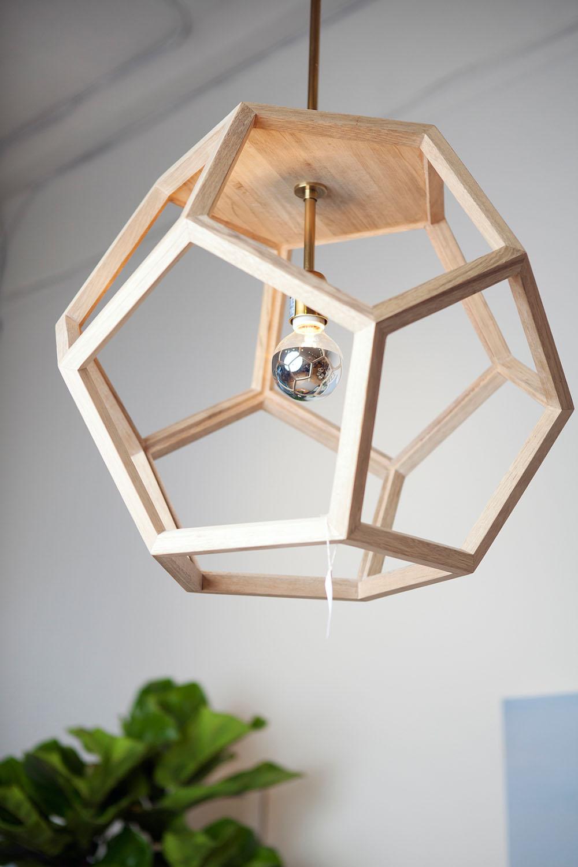 деревянные люстры фото