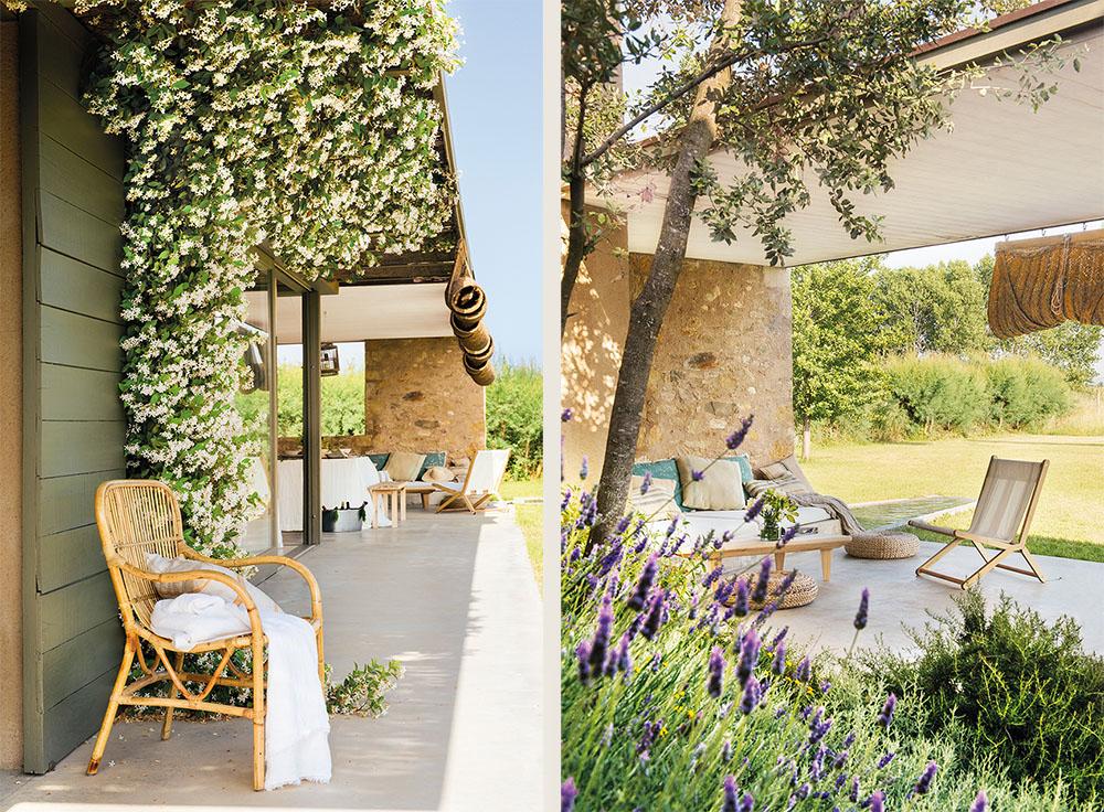 Каменный дом с нотками прованса – испанская мечта