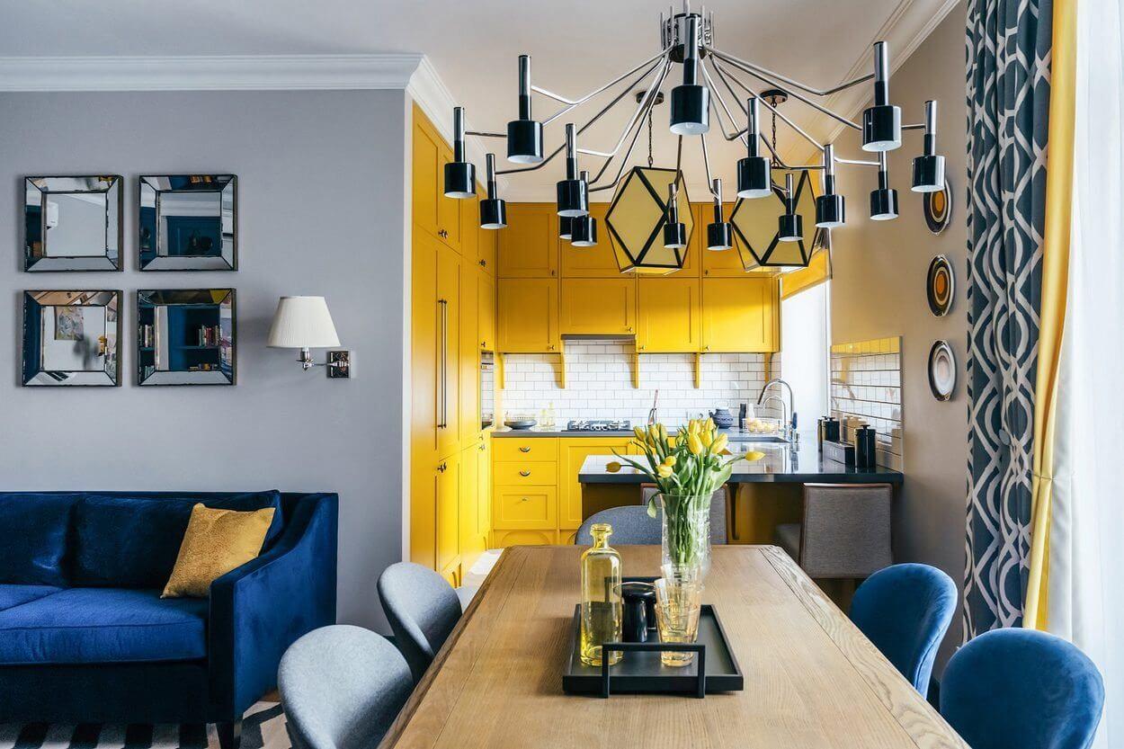 дизайн кухни 7 кв метров