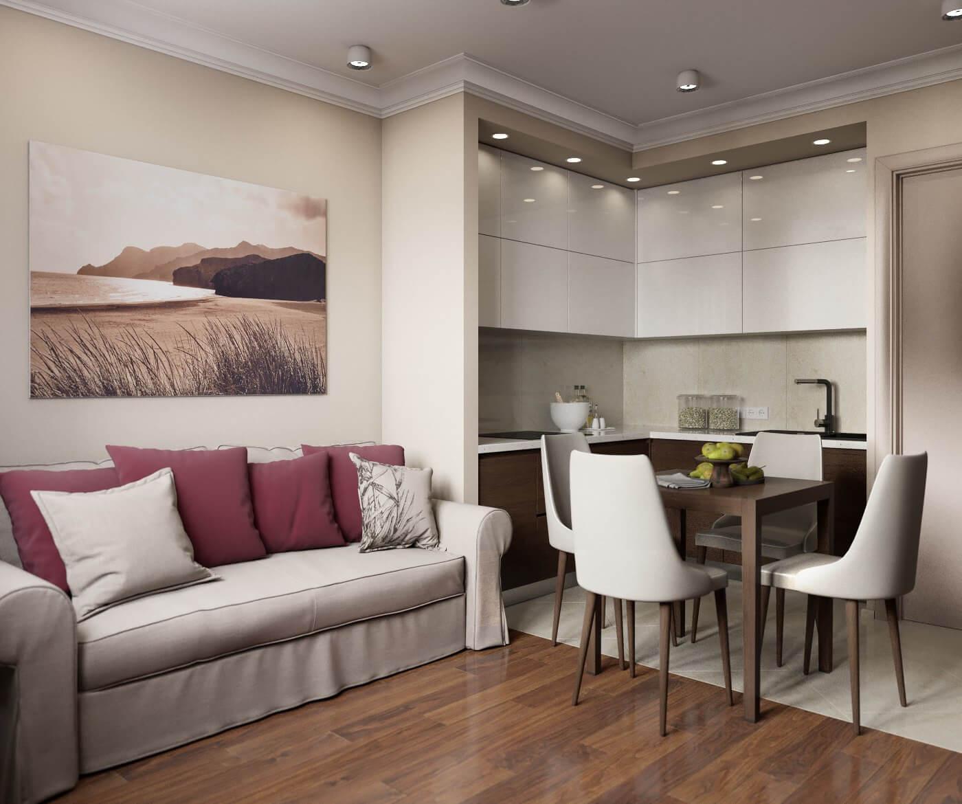 кухни 7 кв м фото