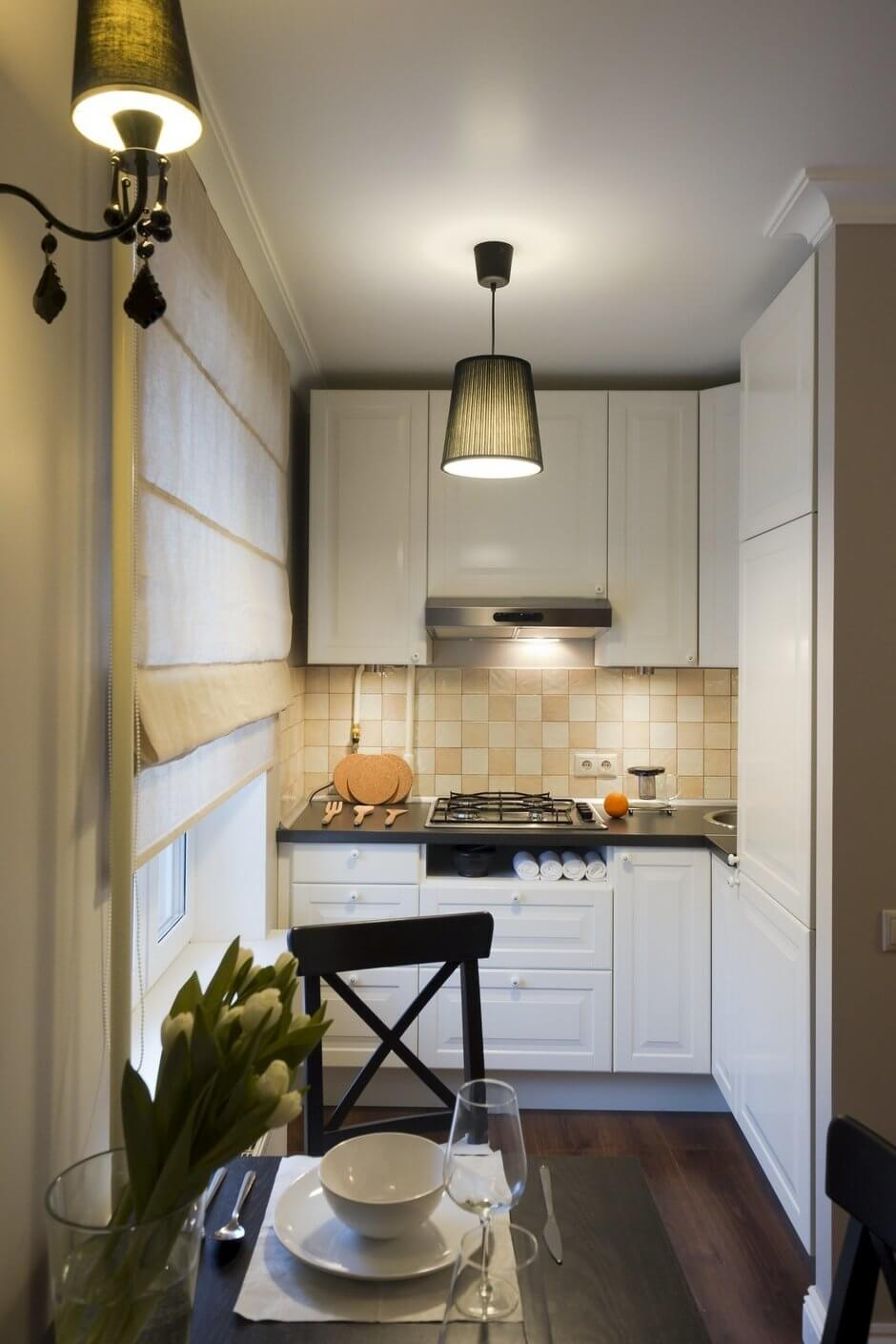 интерьер кухни 7 кв м фото