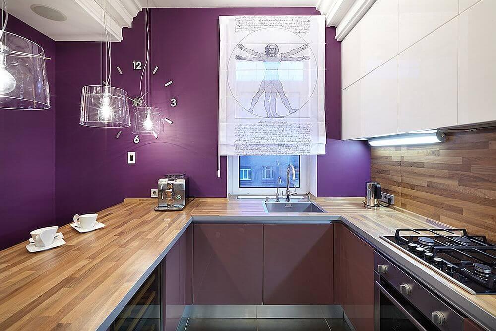 дизайн кухни 7 метров в панельном доме
