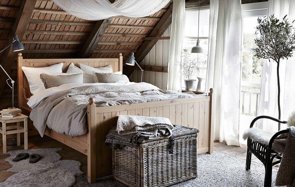 занавески для спальни