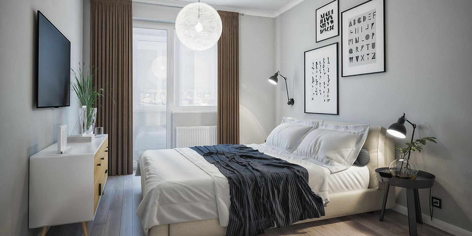 шторы фото в спальню