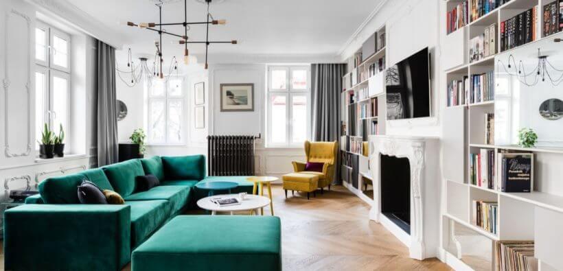 Французский шарм в 4-комнатной квартире