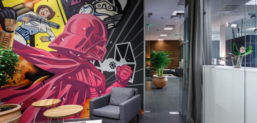 Современный офис с кабинетом Йодо из Днепра