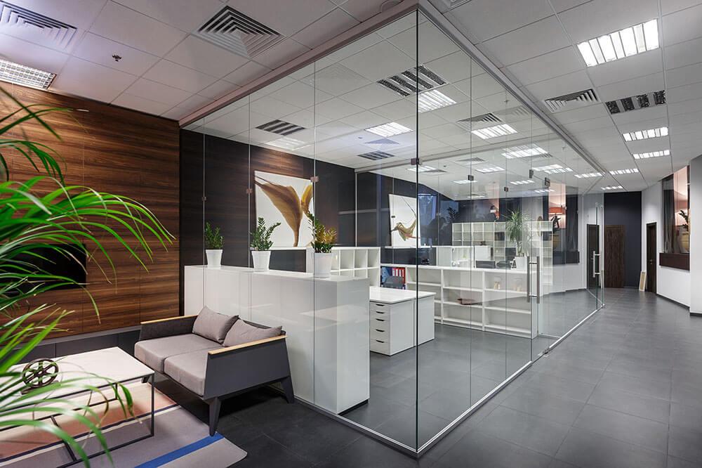 Современный офис дизайн