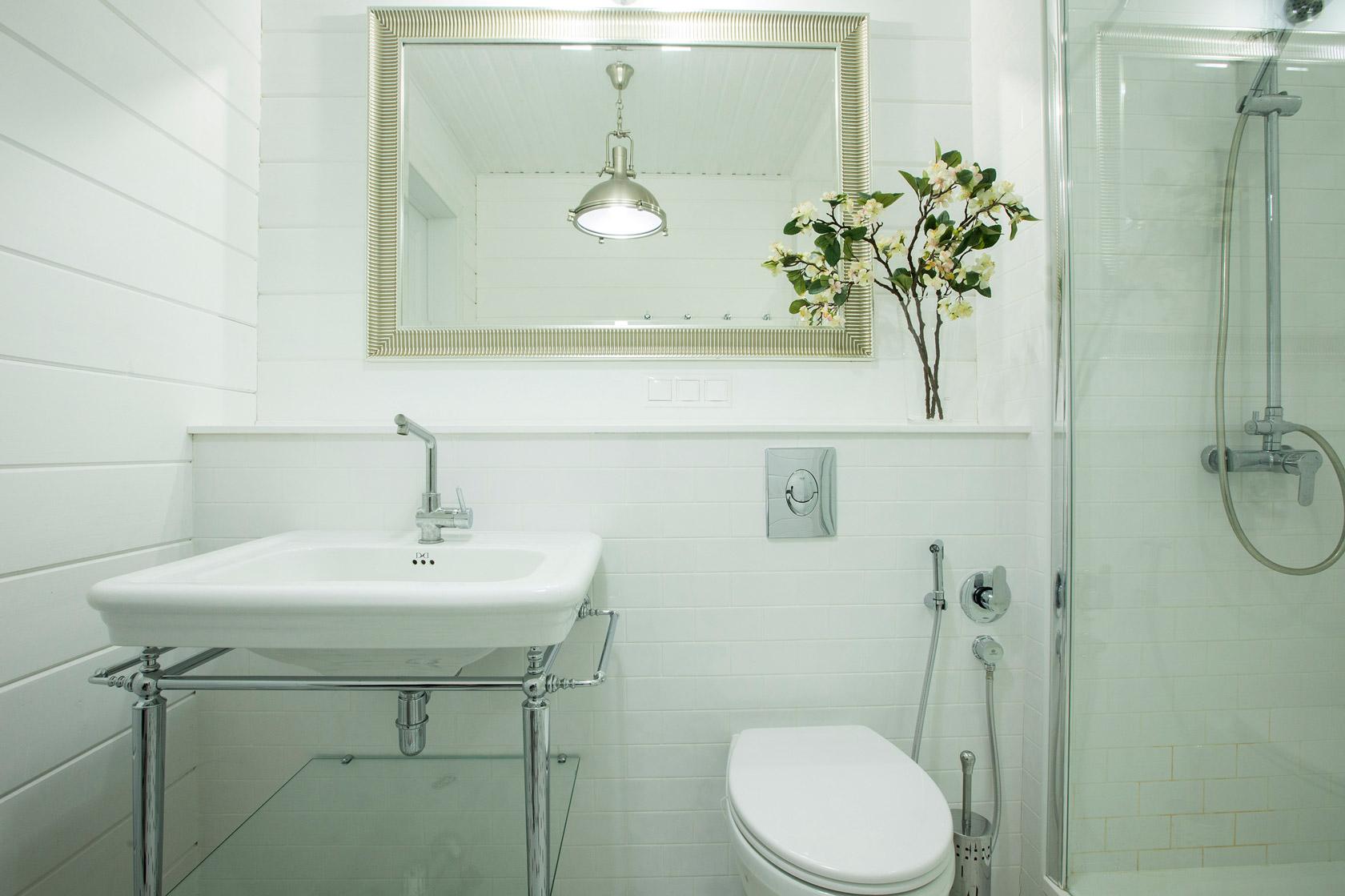 ванная в доме фото