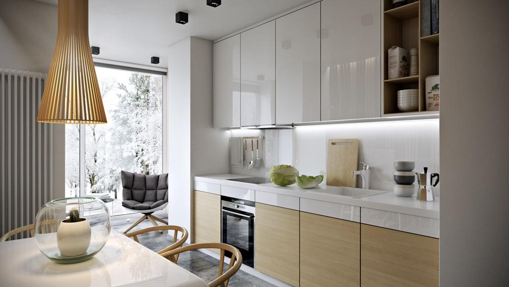дизайн кухни 8 метров фото