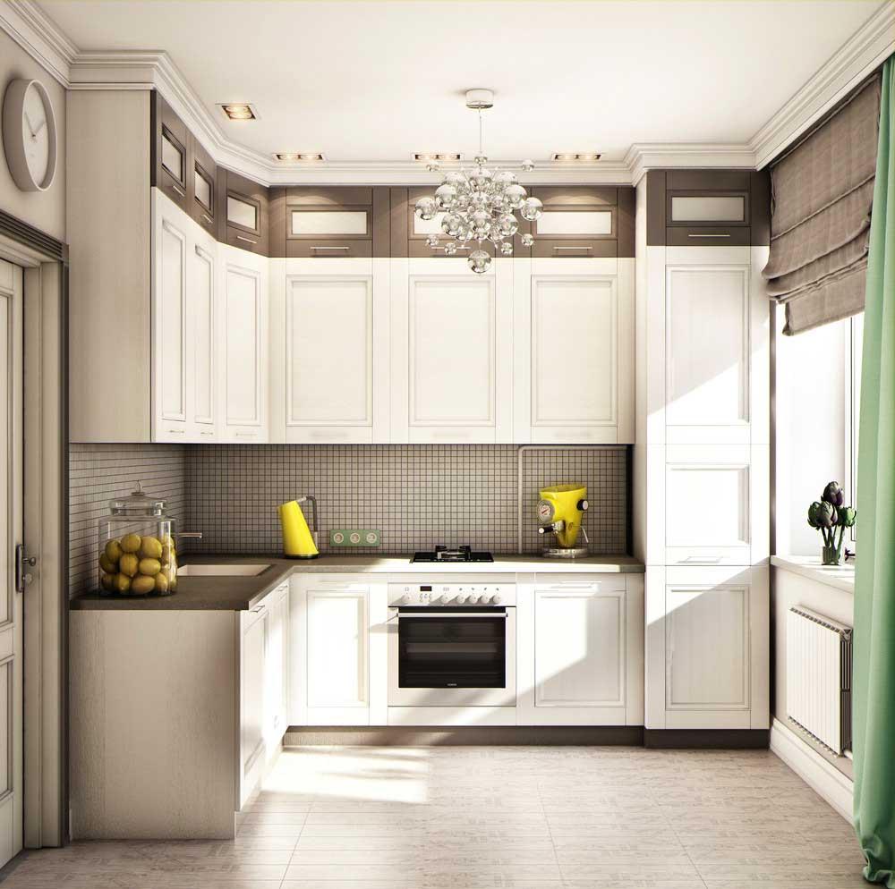 интерьер кухни 8 квадратов