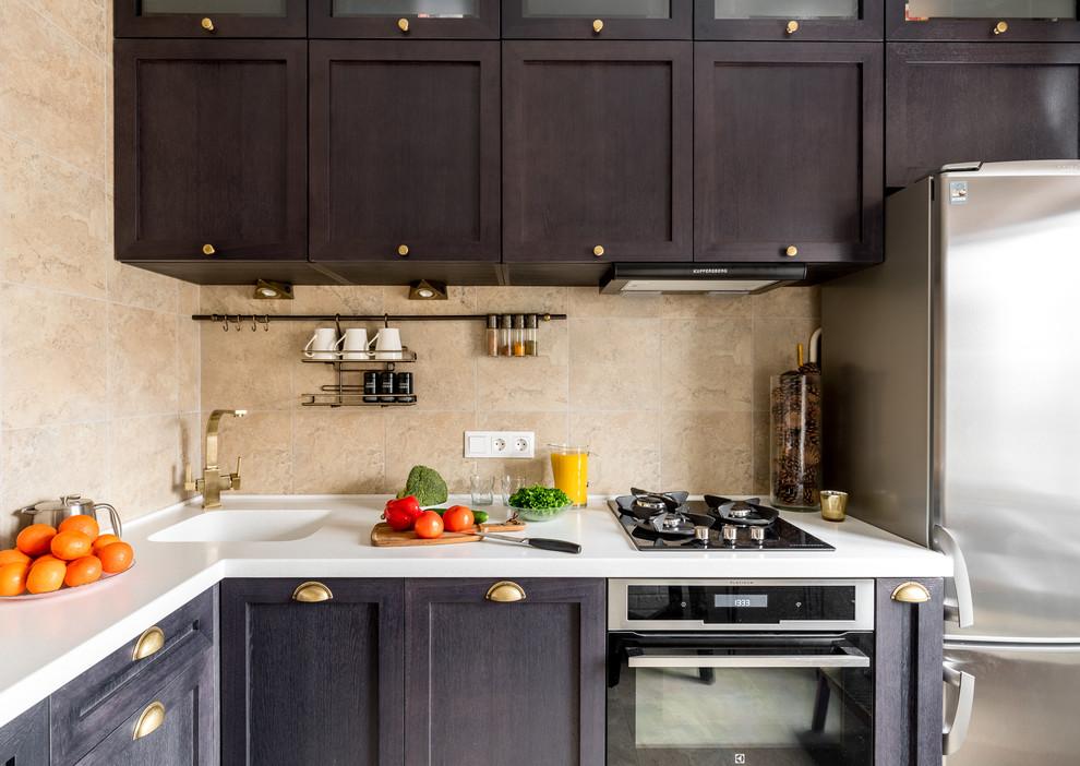 дизайн кухни 8 кв метров фото