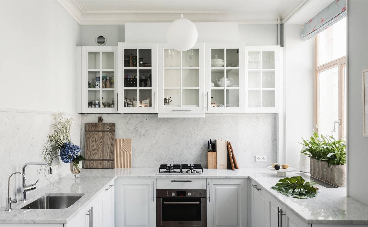 как использовать подоконник на кухне