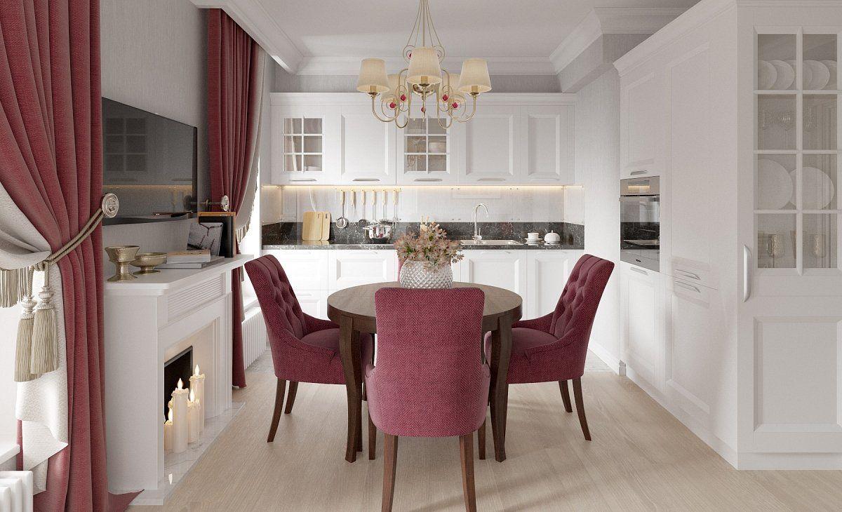 Дизайн кухни с окном в доме