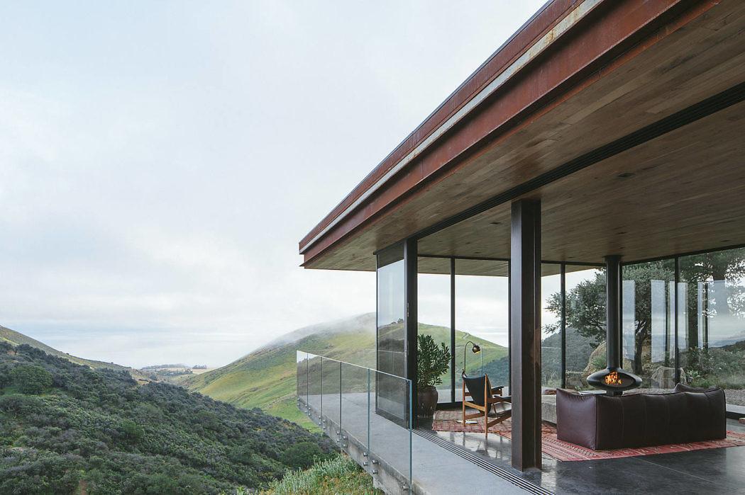 Дом мечты в Санта-Барбаре с головокружительными видами