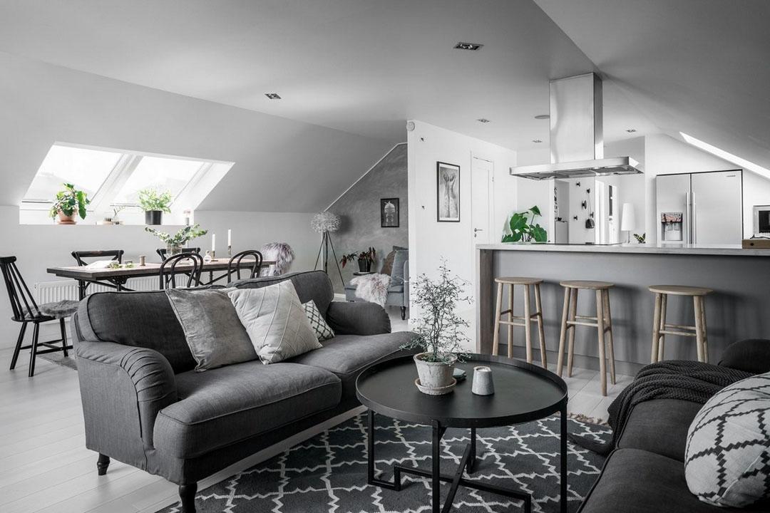 шведский дизайн квартир
