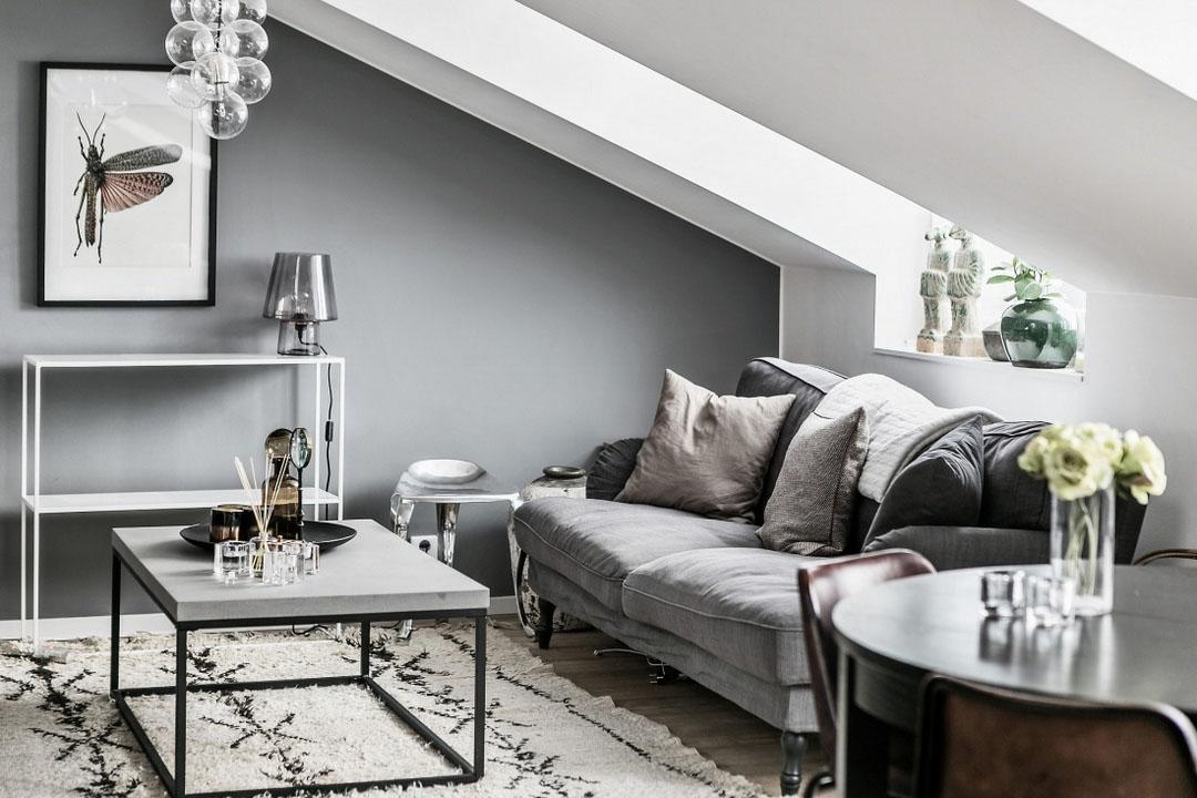 диван в скандинавском стиле