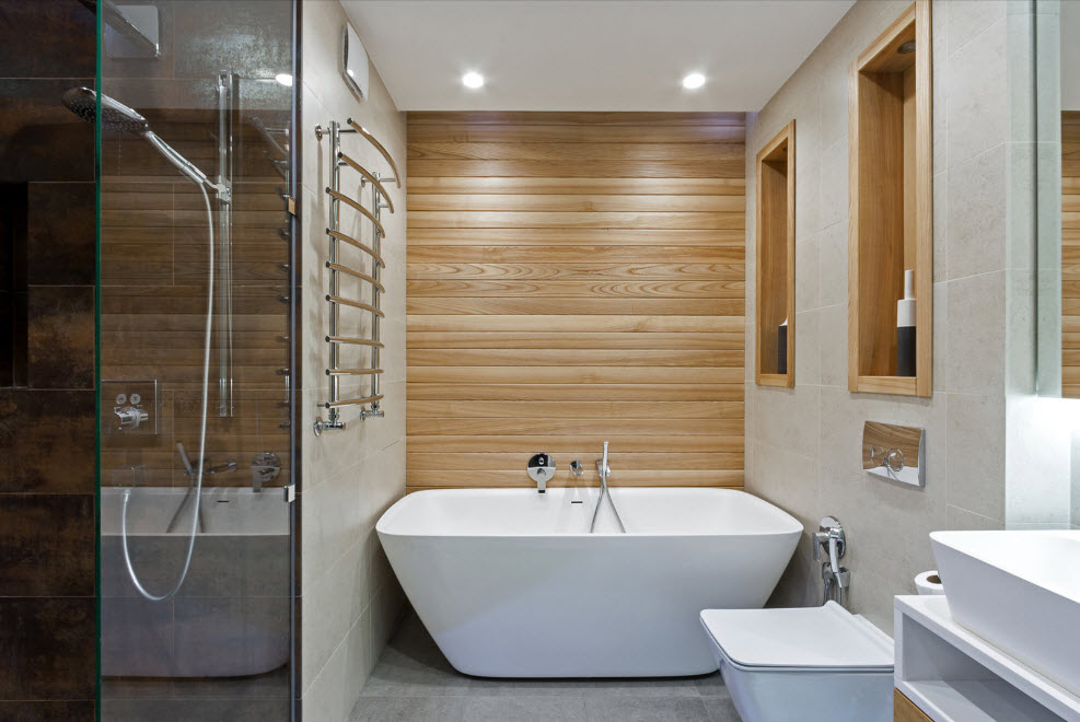 Как будет смотреться ванная комната в эко-стиле