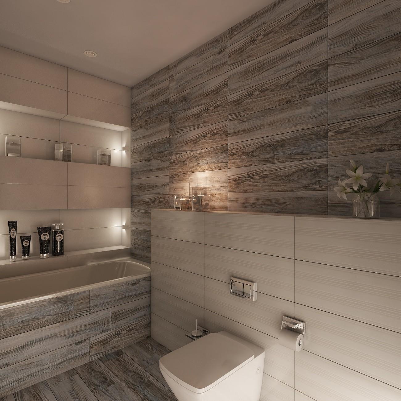 ванна в эко стиле