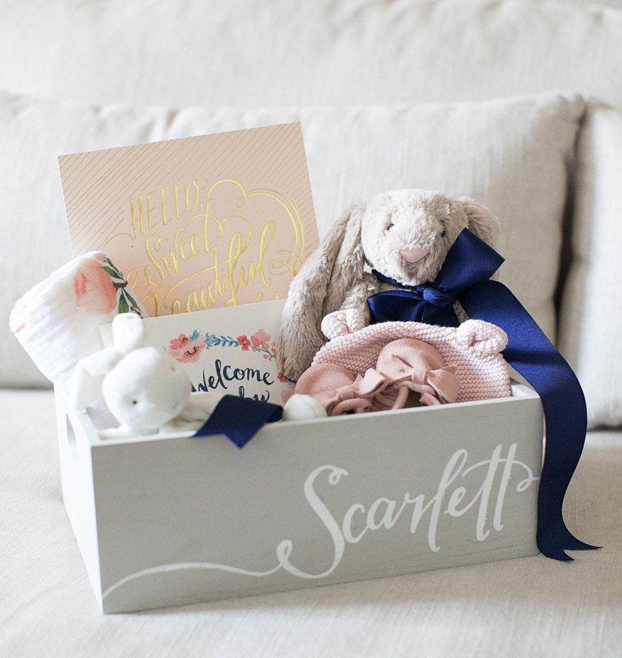 корзинка для новорожденного