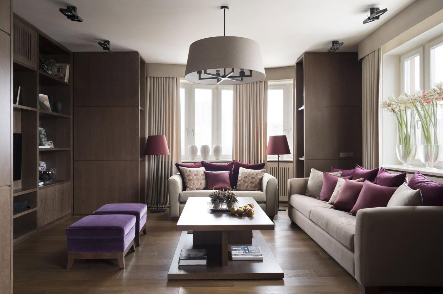 Хранение в гостиной: выбираем стенку вместе