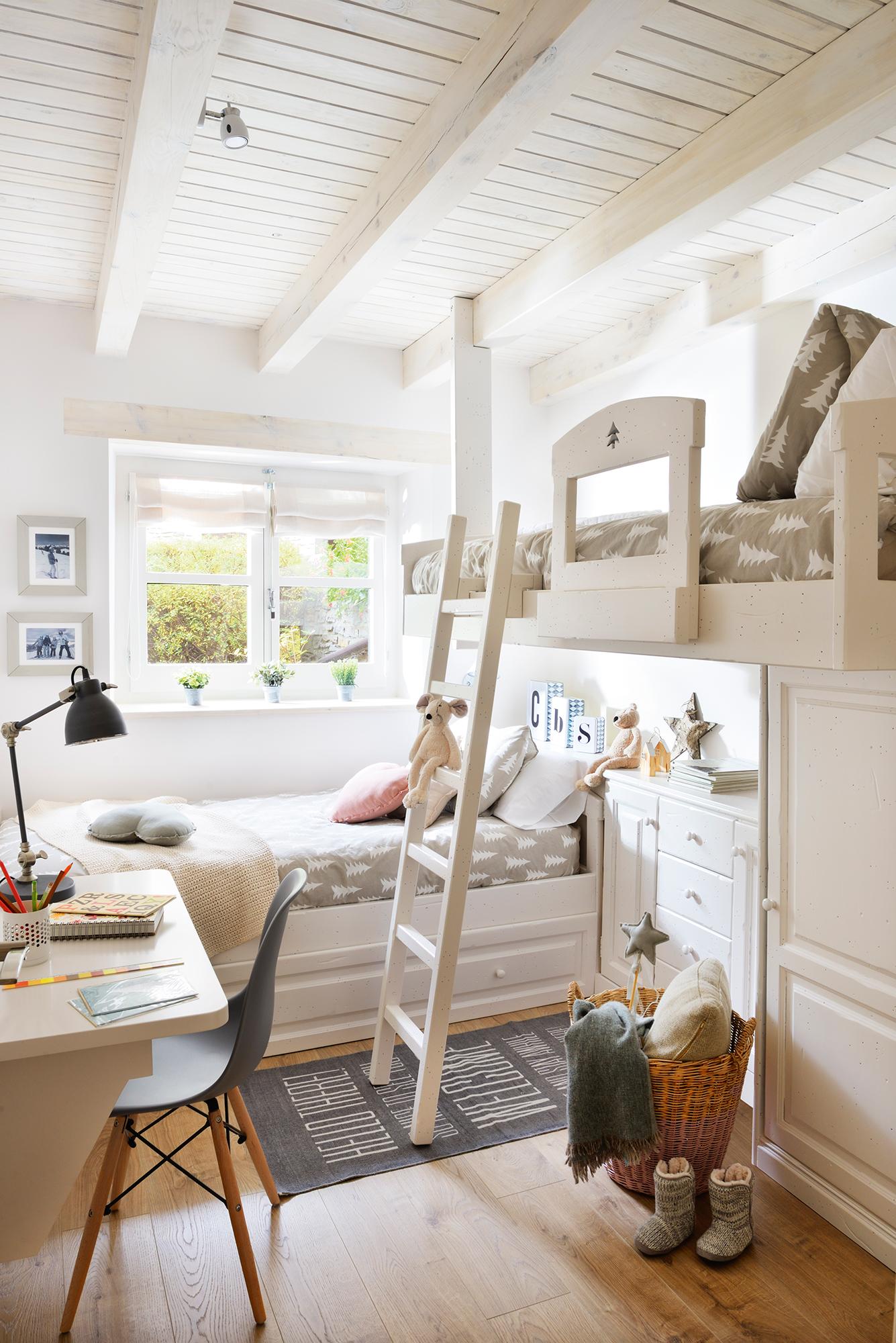 маленькая детская комната для двоих детей