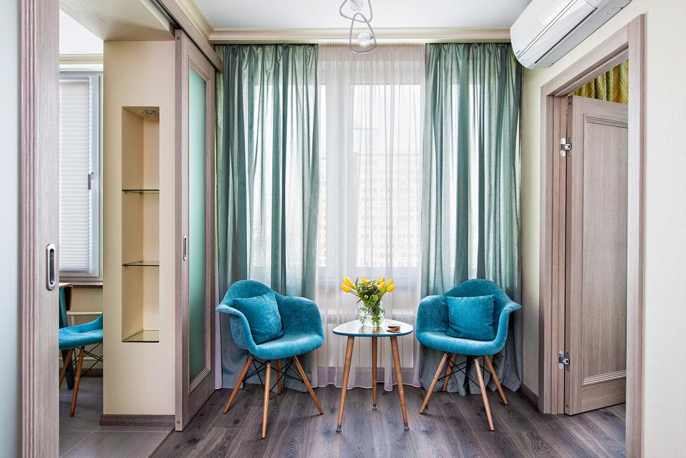 интерьер 2 комнатной квартиры