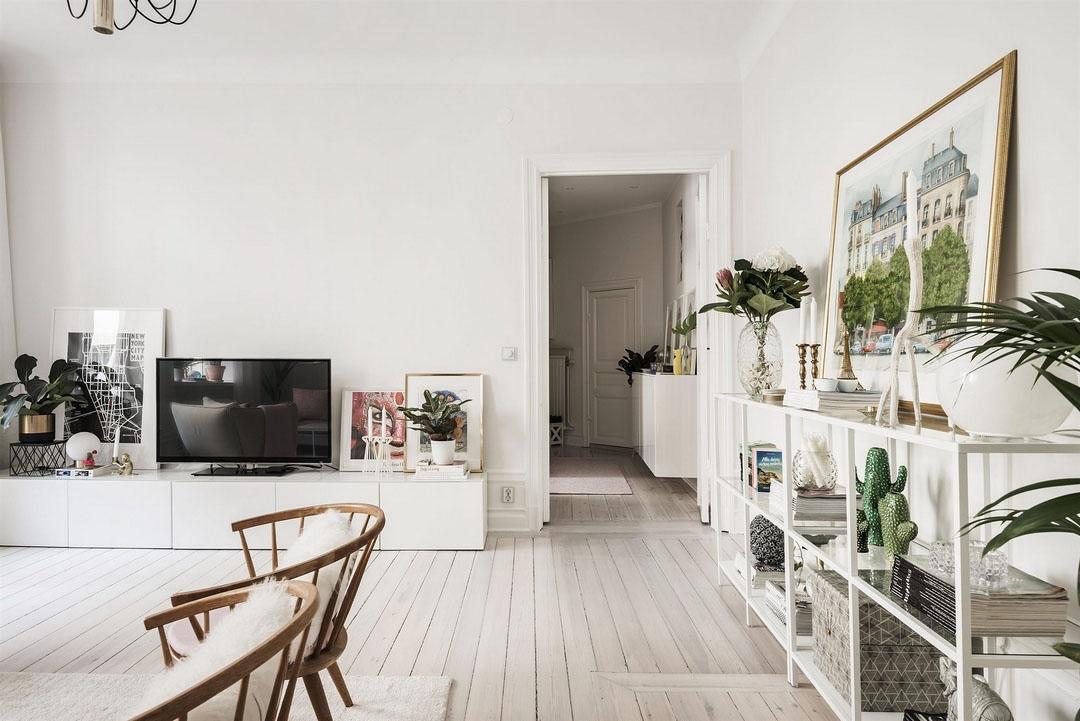Дизайн 2-х комнатной квартиры 57 кв. м