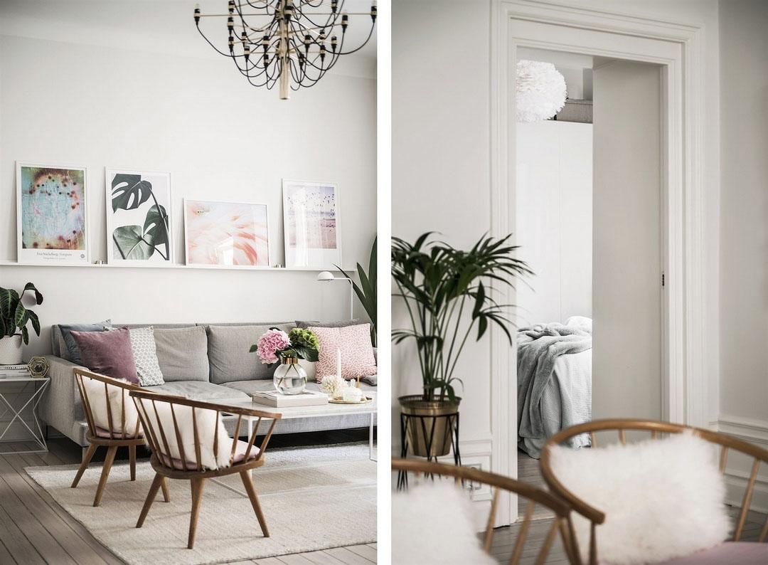 дизайн 2 комнатной квартиры 60м2