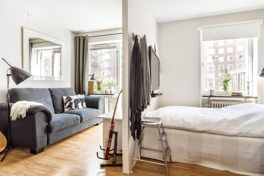 дизайн квартиры 40 кв м