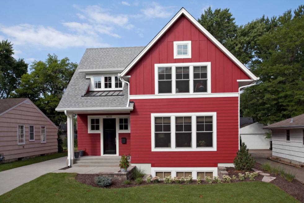 красивый фасад дома