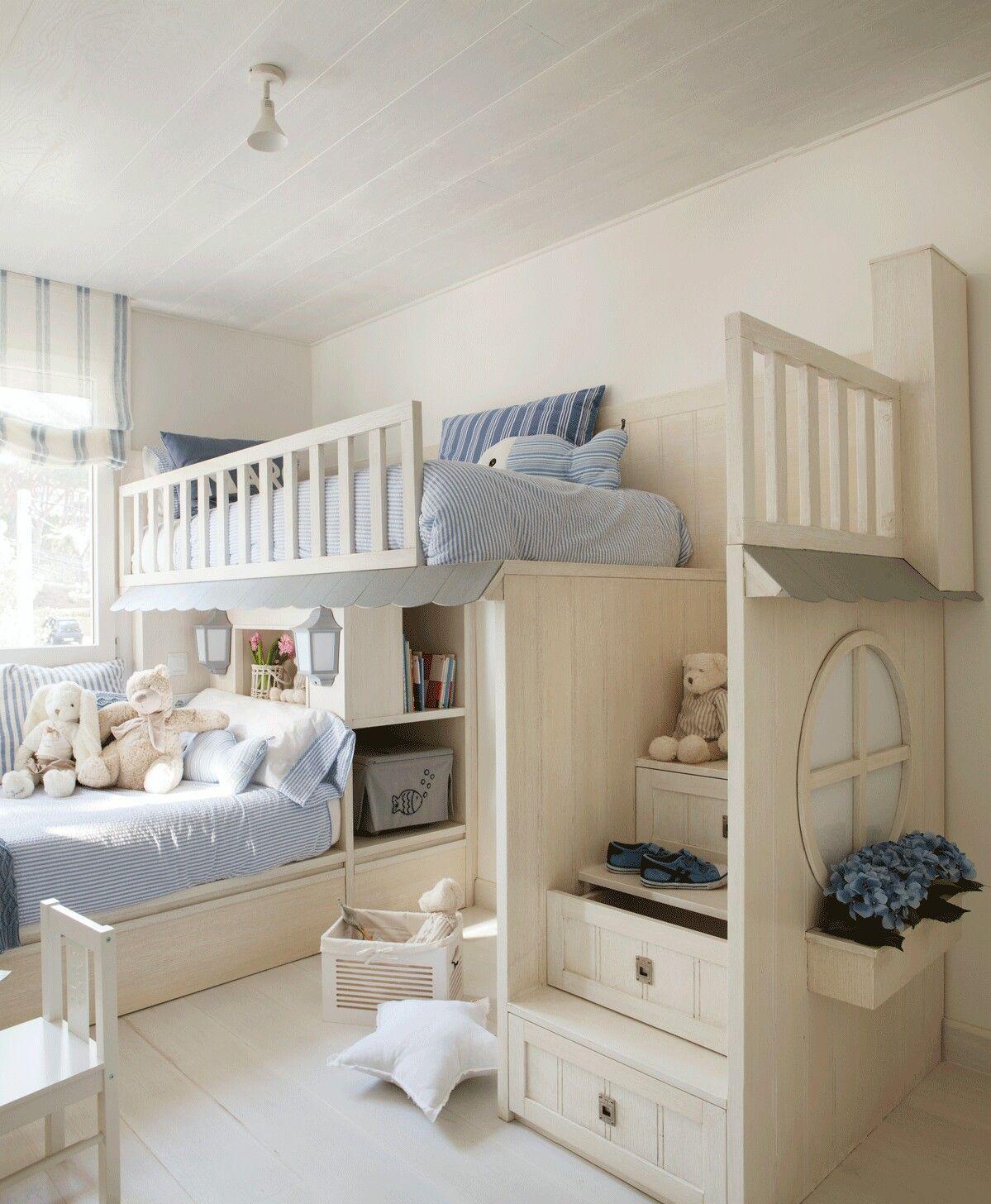 детские комнаты на двоих