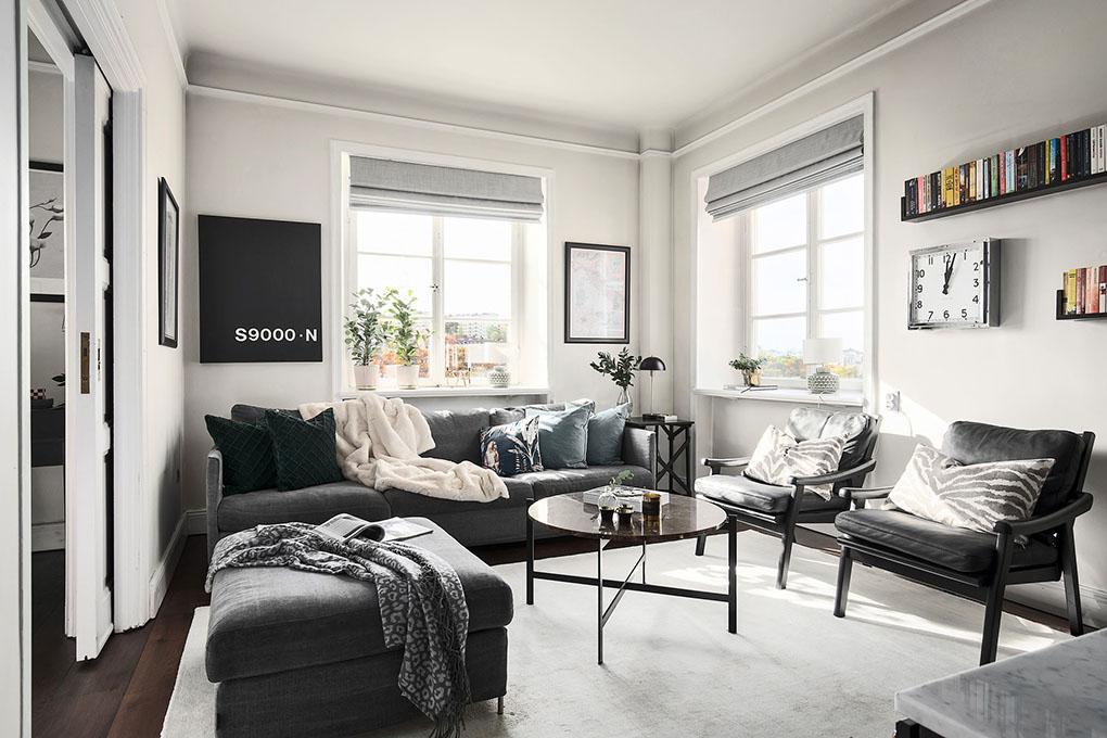 Интерьер 2 -х комнатной квартиры: 54 кв. м красоты