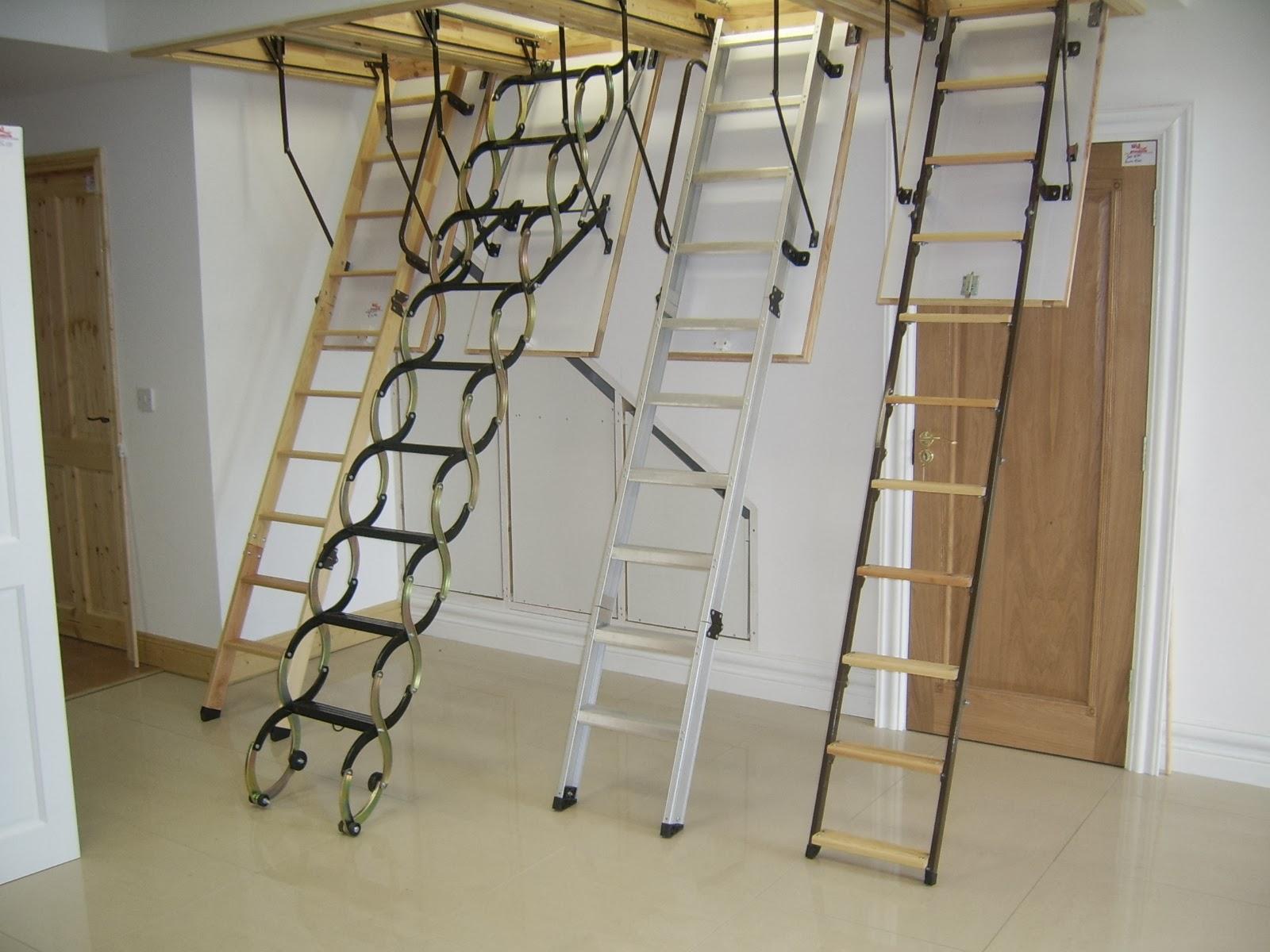 Лестница на чердак: как выбрать