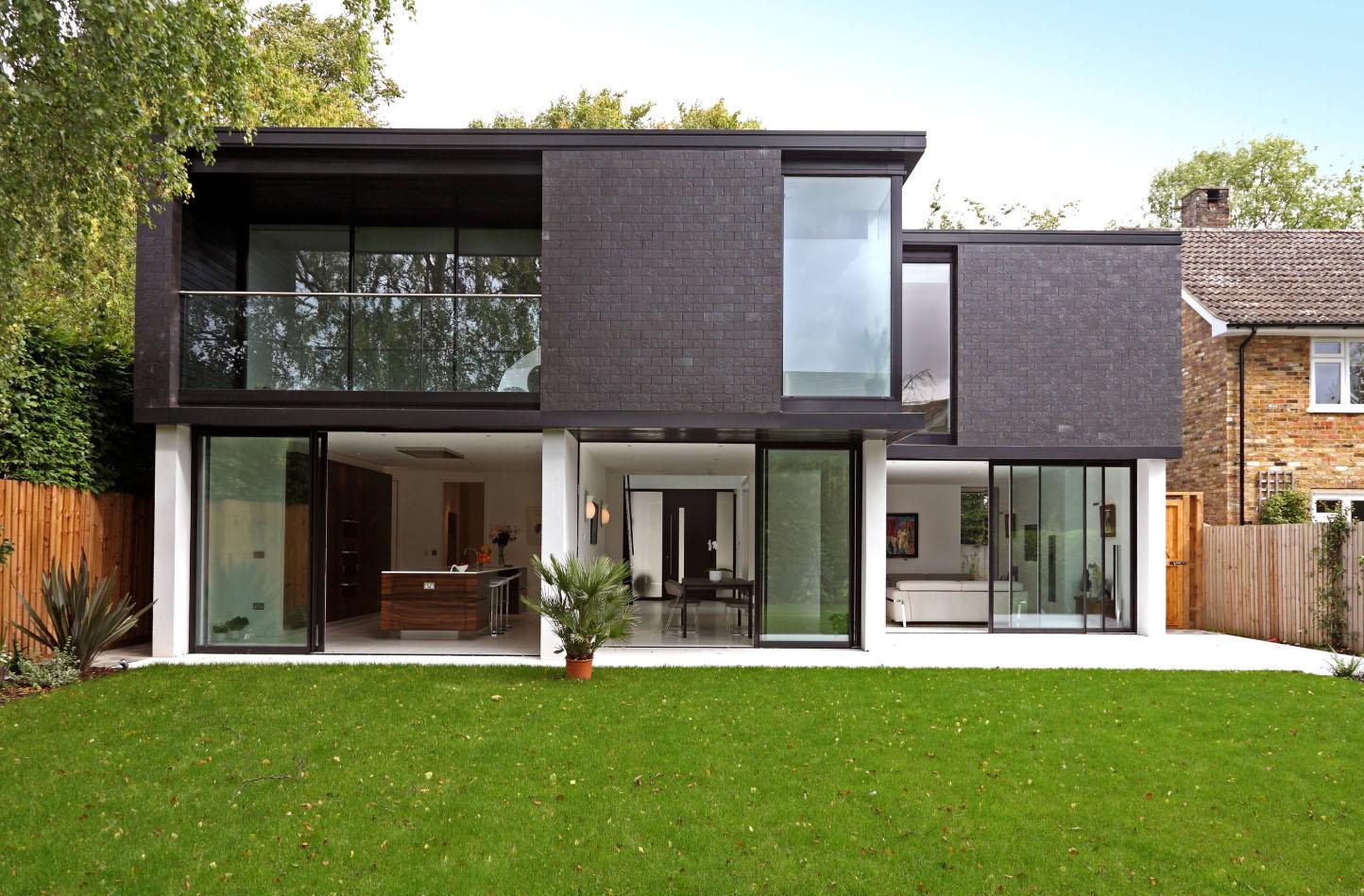 фото фасадов домов