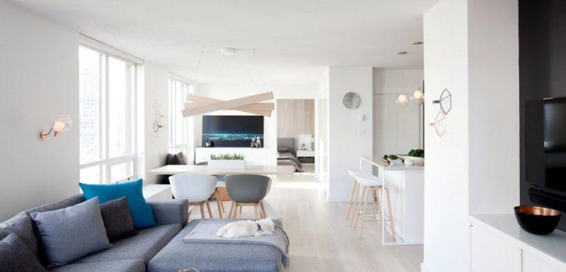 Интерьер маленькой двухкомнатной квартиры: хотите студию?