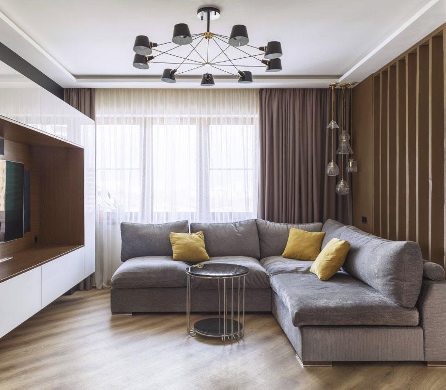 Как выбрать натяжные потолки в зал