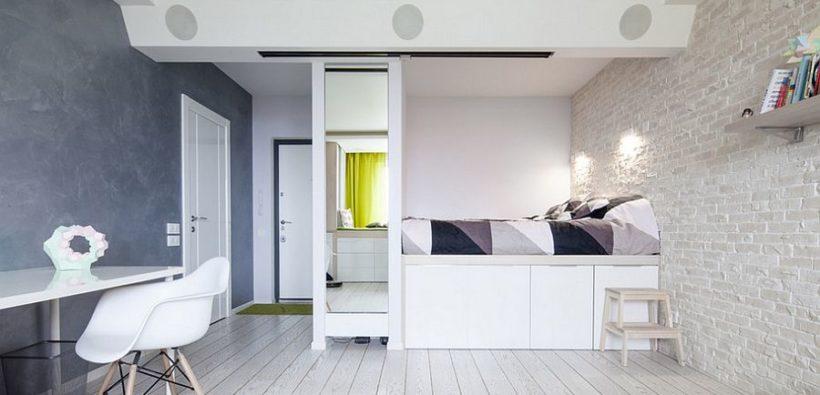Ремонт маленькой спальни: 17 фото