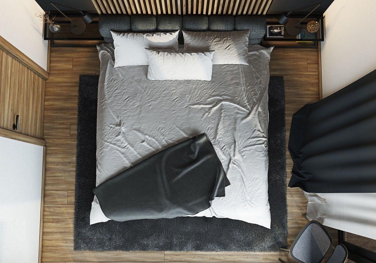спальня 9 кв м дизайн