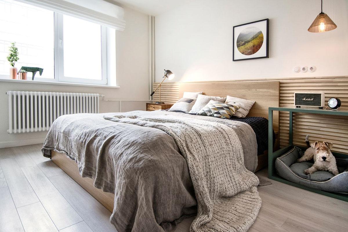 дизайн спальни 9 квадратов