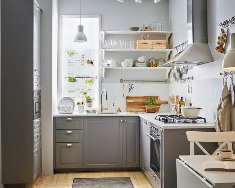 красивые маленькие кухни