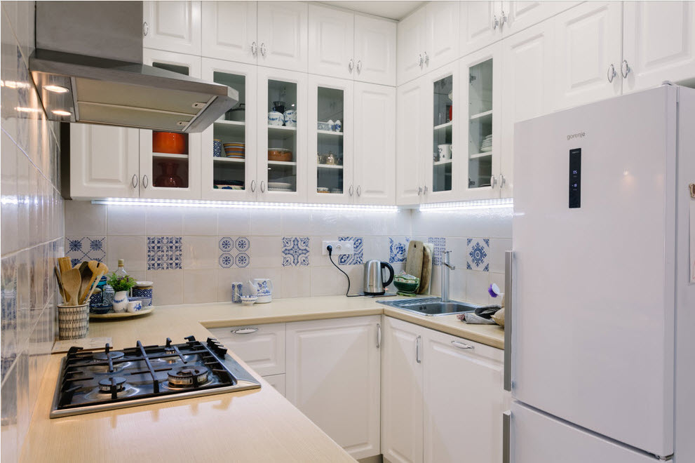 современные маленькие кухни