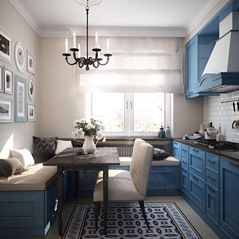 Хочу диван на кухне! 17 дизайнов маленькой кухни с диваном