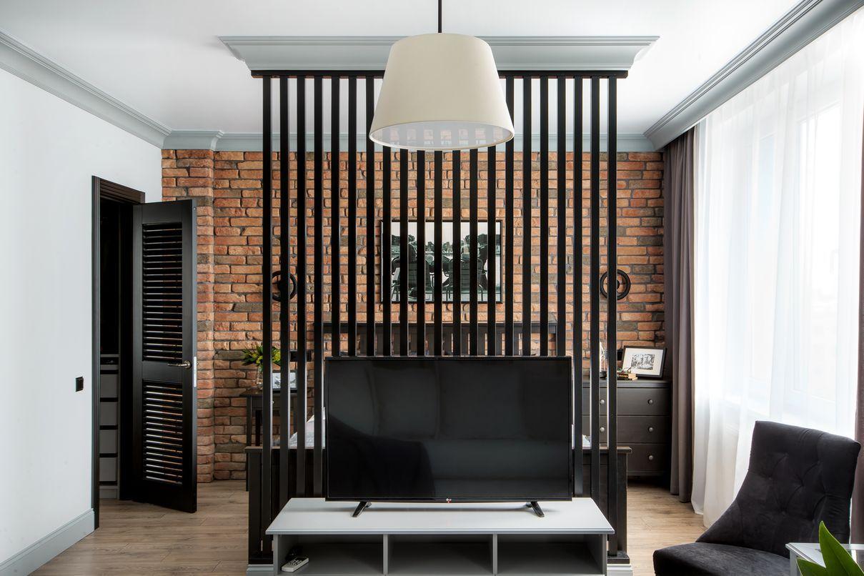 дизайн проект квартиры студии