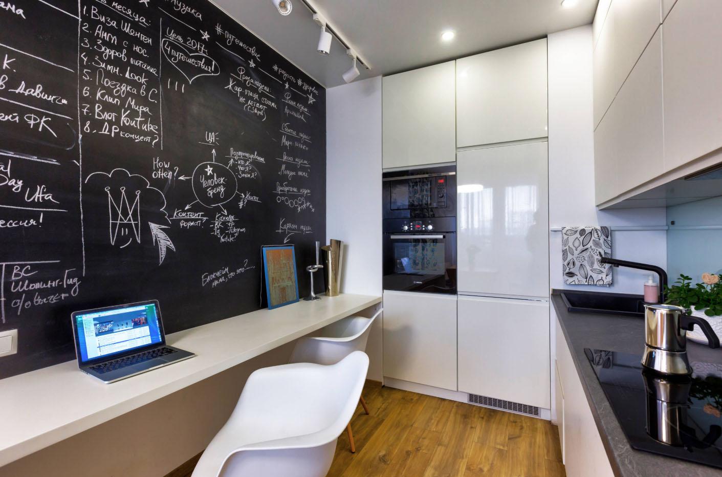 дизайн однокомнатной квартиры с разделением зон