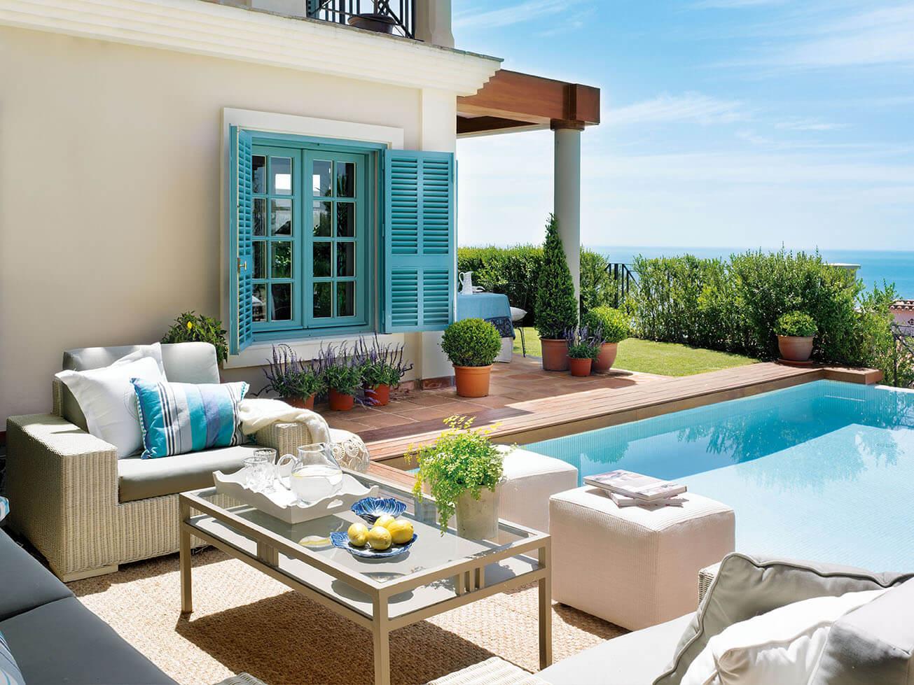 Дом мечты на берегу моря