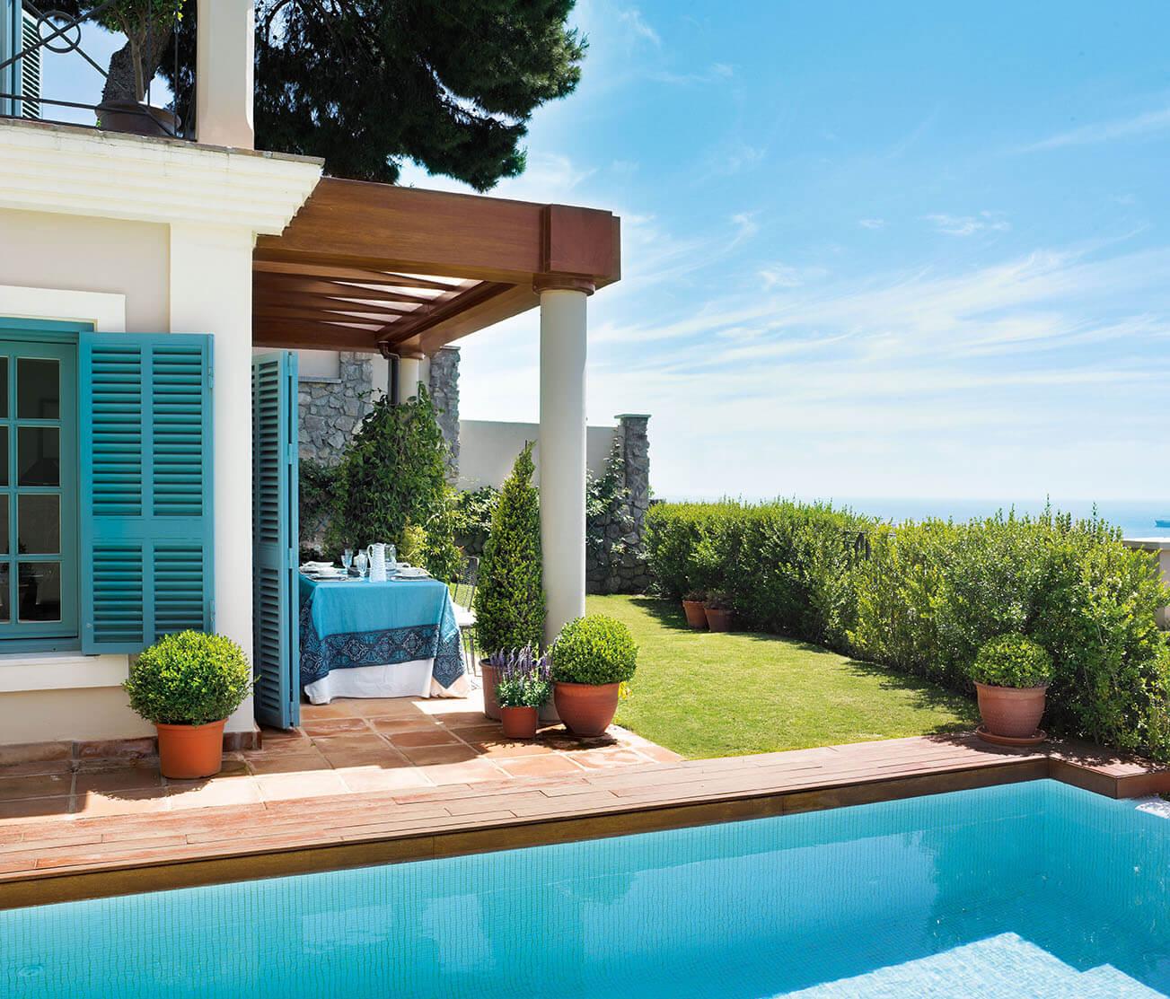 дом мечты с бассейном
